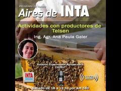Embedded thumbnail for Actividades con productores de Telsen (Chubut)