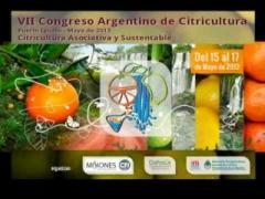 Embedded thumbnail for Congreso Argentino de Citricultura