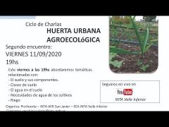 Embedded thumbnail for Ciclo de charlas - Huerta Urbana Agroecológica - 2º Encuentro